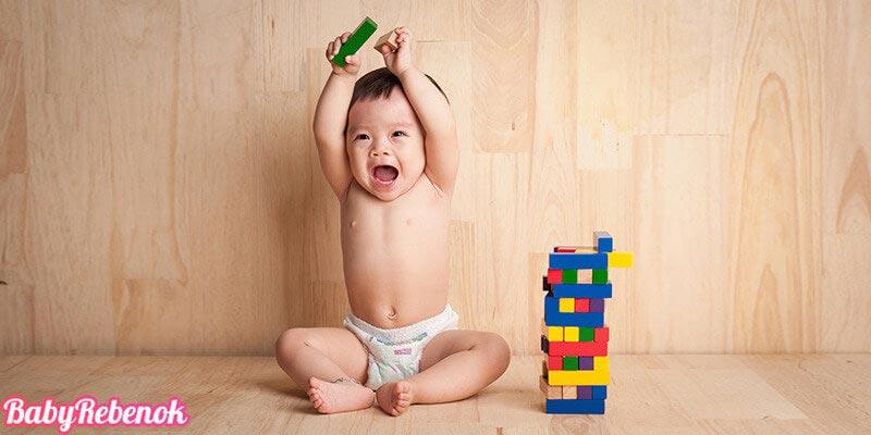 Развитие ребенка на 9 месяце