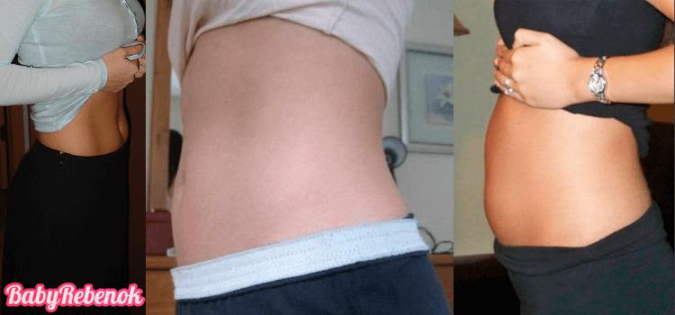 7 неделя беременности: фото, живот, УЗИ, ощущения