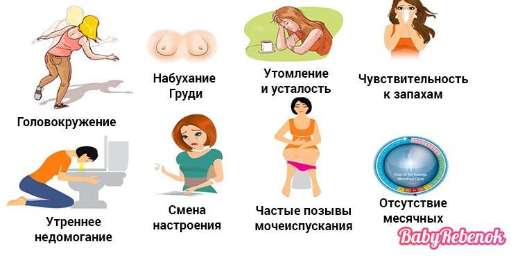 Признаки беременности на ранних сроках - 18 первых симптомов