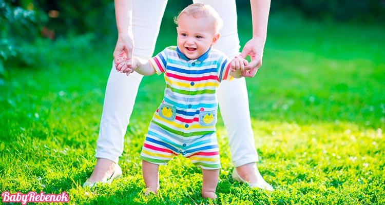Когда ребенок начинает ходить самостоятельно без поддержки