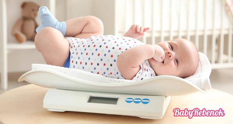 Сколько должен весить ребенка в 5 месяцев. Рост и вес ребенка