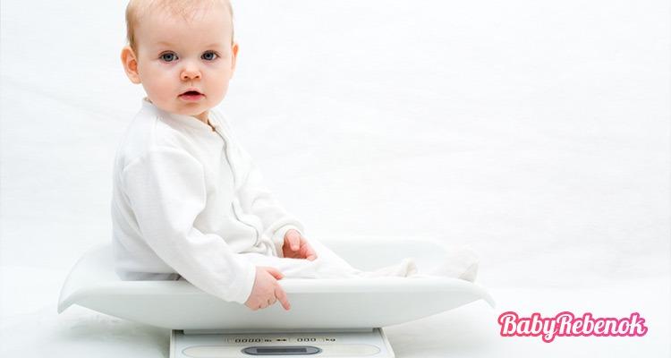Сколько должен весить ребенка в 6 месяцев. Рост и вес ребенка